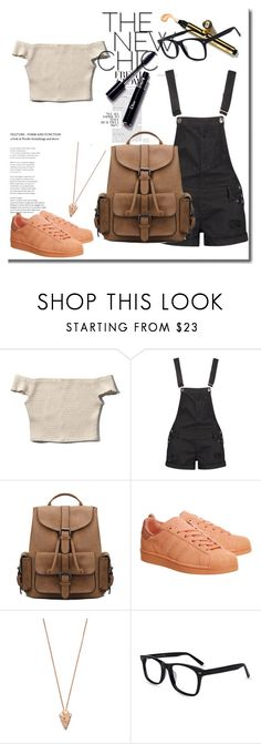 """""""Sin título #815"""" by lululafitte on Polyvore featuring moda, Abercrombie & Fitch, Boohoo, adidas y Pamela Love"""