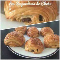 Pains au chocolat (Blog Zôdio) Pains, Bread, Blog, Pain Au Chocolat, Food, Thermomix, Bakeries, Breads