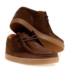 2fbeb02a78ad38 Ipath Cat Men s Skate Shoes  Brown 10.5