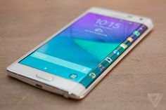 Samsung's Galaxy Note Edge has a display that curves over one side
