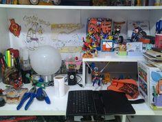 Meu quarto é cheio de criatividade