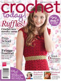 Yarnspirations: Yarn, Crochet, and Knitting Supplies and Patterns Crochet Gratis, Crochet Chart, Crochet Stitches, Modern Crochet, Love Crochet, Knit Crochet, Simply Crochet, Ravelry Crochet, Crochet Fall