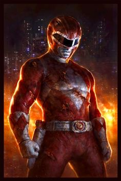 RED RANGER Mighty Morphin Power Rangers Limited Edition Fine Art Lithograph by Dave Rapoza Acme Archives http://www.amazon.com/dp/B00GU0LA44/ref=cm_sw_r_pi_dp_BNykvb140K2S6