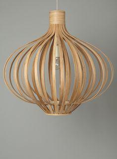 Erika wood (bamboo) pendant light BHS   H: 60cm  W: 60cm