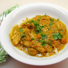 Curry chicken - Vij's style