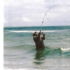 Surf Fishing...that moment when your heart races and you realize you just snagged the bottom...lol