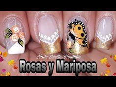 Uñas elegantes y sencillas - YouTube Toe Nails, Manicure, Nail Designs, Beauty, Mary, Youtube, Finger Nails, Sun, Simple Elegant Nails