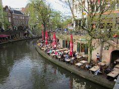 Utrecht ( oude gracht ) Holland