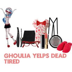 Ghoulia Yelps Dead Tired by urr-katherine on Polyvore