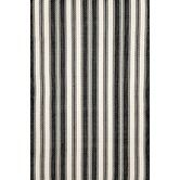 Found it at Wayfair - Woven Black/Ivory Rug