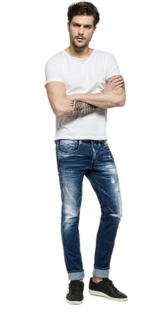 Anbass slim fit jeans by REPLAY