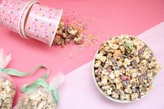 Crushed Micro Eggs Easter Popcorn Mix - Little White Socks