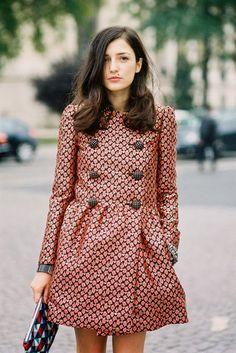 Paris Fashion Week SS 2014....Eleonora - Vanessa Jackman