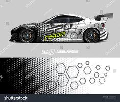 Abstract grunge background for wrap vehicles, race cars, cargo vans, pickup trucks and car livery. Maserati Ghibli, Bmw I8, Aston Martin Vanquish, Car Stickers, Car Decals, Bugatti, Lamborghini, Grunge, Sport Cars