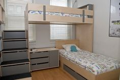 l shaped bunk bed for kids