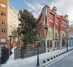 Casa Vicens in Barcelona: GaudísErstlingswerk - SPIEGEL ONLINE - Stil