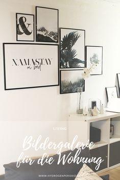 Eine Bildergalerie kann die ganze Wohnung aufwerten und wohnlich machen. Heute gibt es 5 Tipps für die perfekte Bilderwand in den eigenen vier Wänden