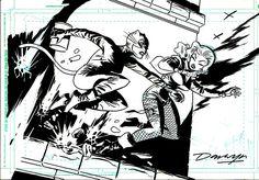 Catwoman and Black Canary by Darwyn Cooke