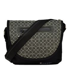 Take a look at this Pewter Embroidered Millie Messenger Bag by Sherpani on #zulily today! $30 !!