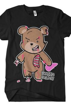 Zombie Bear - Johnnie Guilbert - Official Online Store on District LinesDistrict Lines