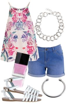 Summer Bloom Outfit includes Butter London, Adorne, and Billini - For everything but the girl