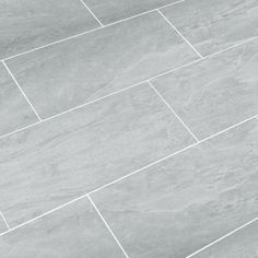 Tile Floor Bathroom wide plank tile for bathroom. great grey color! great option if