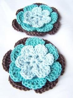 Croche Flowers by laurel