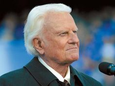 Billy Graham --still shining when a lot of others have gone by the wayside--