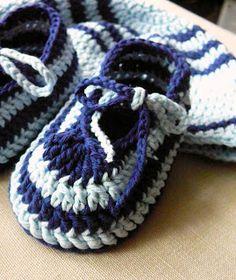 saramar blog: Háčkované bačkůrky - botičky - návody Crochet Baby, Slippers, Beanie, Booty, Kids, Crafts, Shoes, Free, Fashion