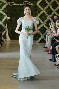 Gown by Oscar de la Renta Spring 2013