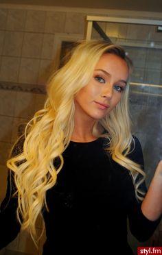 #blonde #hair #waves