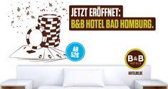 Jetzt eröffnet: B&B #Hotel Bad Homburg - 68. B&B Hotel in Deutschland