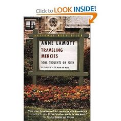 What I am reading now. LOVE LOVE Anne Lamott! Her openness on her faith journey and life is like none other.