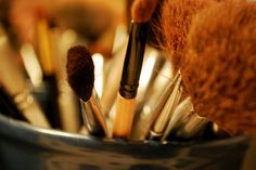 Keeping your brushes clean reduces the chance of acne breakouts.