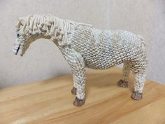 3D Origami - White Horse