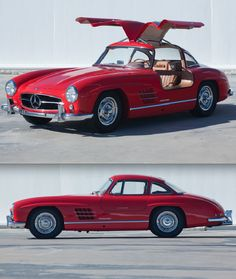 1955 Mercedes-Benz 300SL Gullwing Maintenance of old vehicles: the material for new cogs/casters/gears/pads could be cast polyamide which I (Cast polyamide) can produce