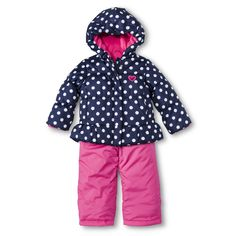 Just One You� Made by Carter's� Infant Toddler Girls' 2-Piece Snow Set