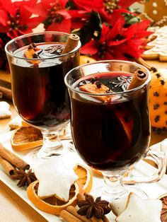 Mulled Wine by Ina Garten | Delicious--I made it in the slow cooker and added the wine at the end to keep it boozy. Even better the second and third days. #winter