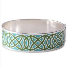 Spotted while shopping on Poshmark: Stella & Dot turquoise Eleanor enamel bracelet! #poshmark #fashion #shopping #style #Stella & Dot #Jewelry