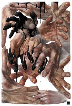 Intersection, Sebastian Luca on ArtStation at https://www.artstation.com/artwork/kwBNA