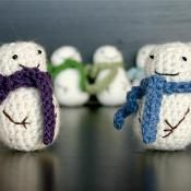Mini Snowman - via @Craftsy