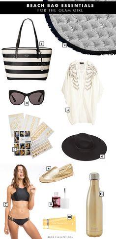 Our Beach Bag Essentials for the Glam Flashionista