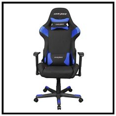 $239 at Rakuten! Official price is $269! DXRACER fd66nb with armrest office computer ergonomic in black and blue color