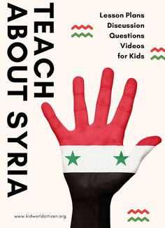 Teach about Syrian Refugee Crisis to Kids- online, free, no-prep Lesson Plans. Why is there a war in Syria? Why are refugees leaving their country? What can we do to help? This is a list of resources for teachers and parents who are interested in teaching