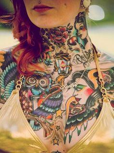 inked tattoo old school