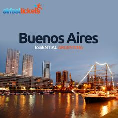 Discover Buenos Aires with #AirFastTickets. Book #flights, #holidays and hotels in #Buenos_Aires today and find out the best things to. The city is one of the world's great urban experiences: a place of stylish people and buildings, wide boulevards and leafy parks, poignant history, gastronomic delights, tango in the streets and extravagant arts and architecture. #Angentina