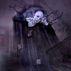 Sopor Aeternus artwork by Natalie Shau, via Behance