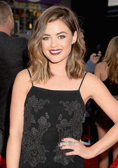 Lucy Hale gets a lob!
