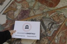 Gli affreschi della Confraternita dell'Immacolata a Genola Piemonte Provincia di Cuneo #genola #invasionigenola #invasionidigitali #invasionipiemontesi #piemonte