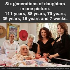 111 Years Generation Photo image posted in Amazing Images. Wow Facts, Weird Facts, Real Facts, Random Facts, Masters In Psychology, Single Pic, Generation Photo, Interesting Facts About World, Mind Blowing Facts